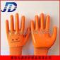 厂家直销尼龙浸胶手套耐油耐酸碱PVC劳动防护非一次性牛筋劳保